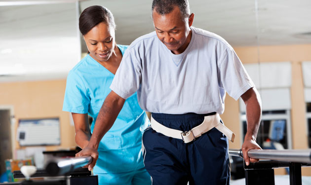 Gait training physical therapy